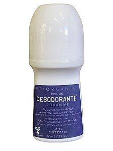 BIOZENTHI - Desodorante Roll-on 65ml - Epiorganic com Óleo Essencial de Lavanda  - Natural - Vegano - Sem Glúten
