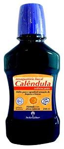 SCHRAIBER - Enxaguante Bucal de Calêndula 250ml - Sem Flúor - Natural - Vegano - Kosher