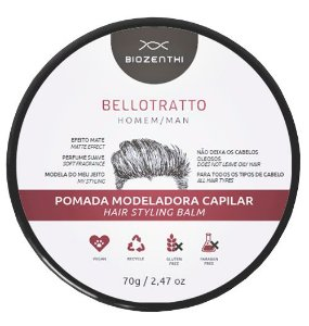 BIOZENTHI - Bellotratto Pomada Modeladora Homem 70g - Natural - Vegana