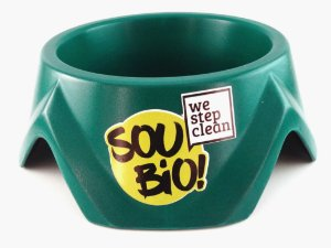 WE STEP CLEAN - Bowl Pequeno 500ml - Verde - Biodegradável - Resina de Momona