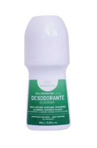 BIOZENTHI - Desodorante Roll-on 65ml - NEUTRO Sem Perfume - Natural - Vegano