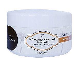 BIOZENTHI -  Máscara Capilar com Óleo de Coco - 250g - Natural - Vegano
