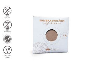 CATIVA NATUREZA - Sombra Refil SOFT BROWN 1,5g - Orgânica - Natural - Vegana