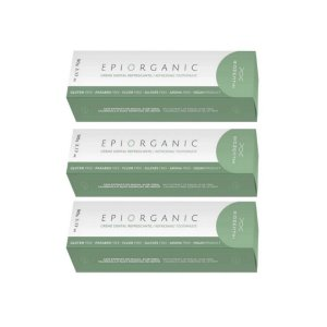 Kit 3 unidades - BIOZENTHI CREME DENTAL EPIORGANIC - 90g - Natural - Vegano - Sem Flúor - Sem Glúten