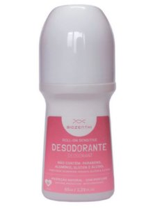 BIOZENTHI - Desodorante Roll-on 65ml - Sensitive Perfume Suave - Natural - Vegano
