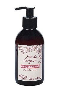 ARTE DOS AROMAS - Loção Hidratante Corporal de Flor de Cerejeira 220ml - Vegano – Natural