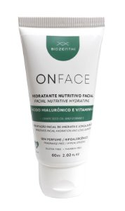 BIOZENTHI - ONFACE Hidratante Nutritivo Facial 60ml - Natural - Vegano - Sem Glúten