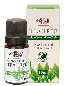 ARTE DOS AROMAS - Óleo Essencial Tea Tree - 10ml - 100% Natural