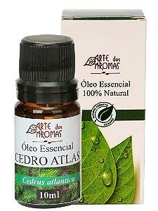 ARTE DOS AROMAS - Óleo Essencial Cedro - 10ml - 100% Natural