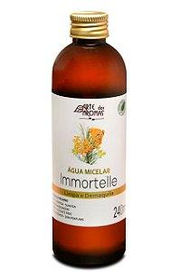 ARTE DOS AROMAS - Água Micelar Immortelle 240ml - Natural - Vegana - Demaquila - Limpa