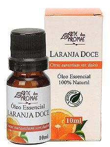 ARTE DOS AROMAS - Óleo Essencial Laranja Doce - 10ml - 100% Natural