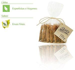 Esportistas e Veganos - Pacote com 10 misturinhas de saúde - Sabor: Ervas Finas - 90g