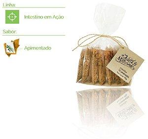 Intestino em Ação - Pacote com 10 misturinhas de saúde - Sabor: Apimentado - 90g