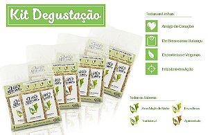 Kit Degustação - 4 Pacotes com 4 misturinhas de saúde cada - Uma de cada sabor - 4x36g