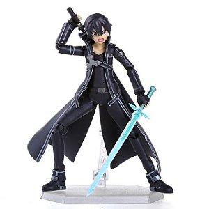 Figura de ação Anime Espada de Arte Em Linha SAO Kirito Modelo Filme Kirigaya Kazuto