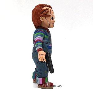 Chucky 1/10 Escala de Terror Chucky Boneco