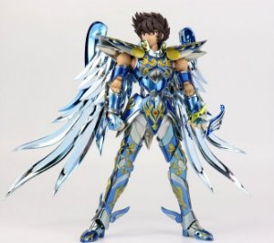 Action Figure Pegasus Seiya V4 Deus Santo Armadura de Metal