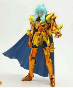 Action Figure Cavaleiro dos Zodiacos Saint Seiya Afrodite de peixes ouro