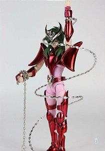 Action Figure Shun de Andrômeda ouro bronze Saint Seiya