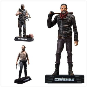 Action Figure The Walking Dead Rick, Daryl, Negan