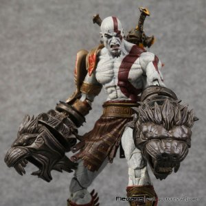 Action Figure God of War 3 Kratos Ghost of Sparta
