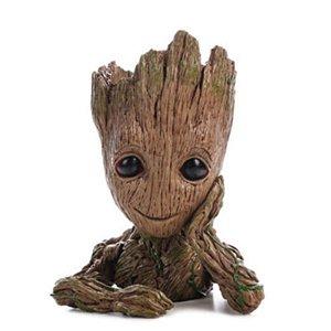 Vaso e porta lápis Guardiões da Galáxia Baby Groot 15 cm