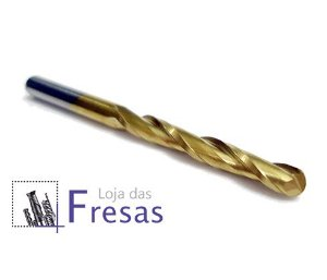 "Fresa ball nose de 2 cortes helicoidais - 3,175mm (1/8"") - Metal duro c/TiN"