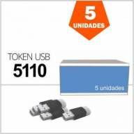 Token de Certificado Digital e-CPF e-CNPJ NF-e 5110 Safenet Caixa com 5 Unidades