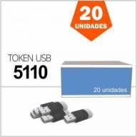Token USB 5110 Safenet Gemalto para Certificado digital A3 Caixa com 20 Unidades