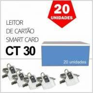 Leitor de Cartão Smart Card IDBridge CT30 Gemalto para Certificado Digital  A3 Caixa 20 Unidades