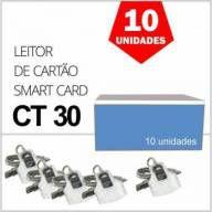 Leitor de Cartão Smart Card IDBridge CT30 Gemalto para Certificado Digital  A3 Caixa 10 Unidades