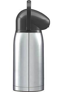 Garrafa Térmica de Pressão Nobile Total Inox 2 Litros