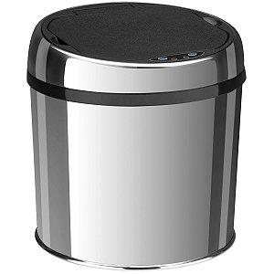 Lixeira Inox Tramontina Automática com Sensor e Acabamento Polido 6 L
