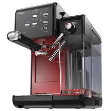 Cafeteira Espresso Oster PrimaLatte II vermelha 220V