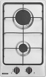 Fogão cooktop 2Q a Gás inox Tramontina