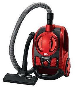 Aspirador de Pó vermelho metálico B&D 220V