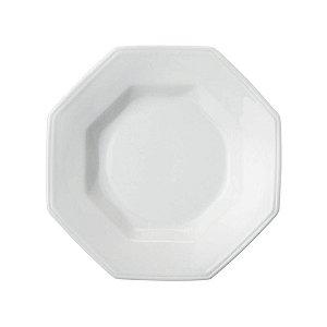 Prato fundo prisma porcelana schmidt caixa c/12 pçs
