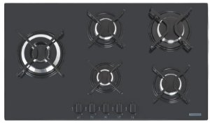 Fogão cooktop 5Q vidro penta side Tramontina