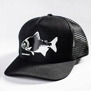 Boné Tamba Black Edition Made in Fishing ® - Original - Preto