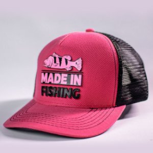Boné Classic Pink Edition Made in Fishing ® - Original - Rosa