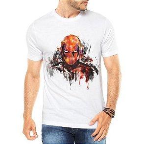 Camiseta Masculina Branca - Deadpool