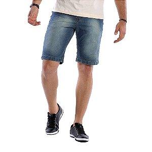 Bermuda Jeans Masculina Tradicional Bamborra Premium