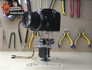 Suporte Pan Tilt Para Câmeras Botcam - Marlon Nardi Oficial