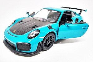 Porsche 911 GT2 RS Azul - Escala 1/36 12 CM