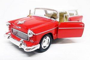 Chevrolet Chevy Nomad 1955 Vermelho - Escala 1/40 12 CM