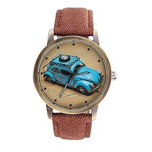Relógio de Pulso  Vintage-Retrô VW Fusca