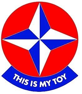 Adesivos Thys is My Toy - Esse é meu brinquedo - Estrela
