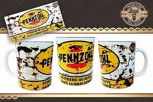 Caneca Vintage Pennzoil