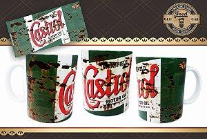 Caneca Vintage Castrol