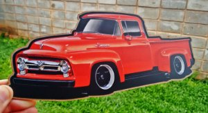 Placa Decorativa Ford F100